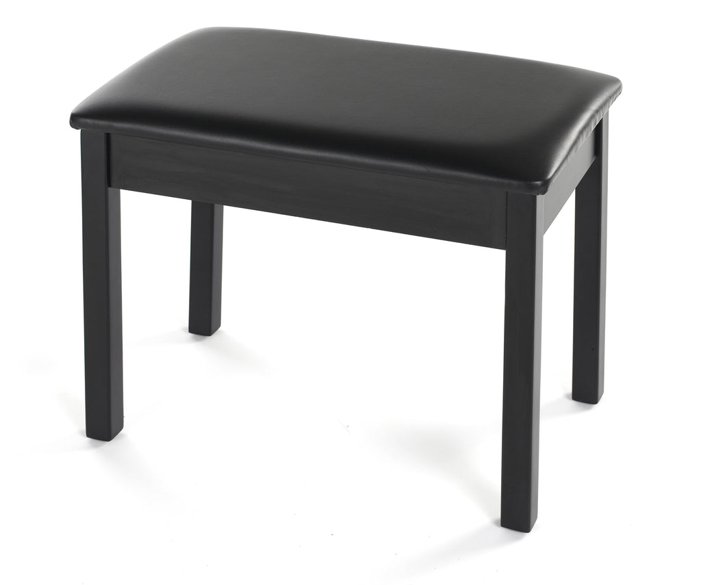 Yamaha BB1 Padded Piano Bench - Black Wood