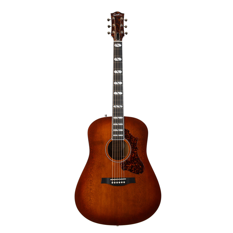 Godin Metropolis LTD Havana Burst HG EQ Acoustic Guitar