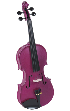 Cremona SV-130RS 42098 Violin Oufit in Rose 4/4