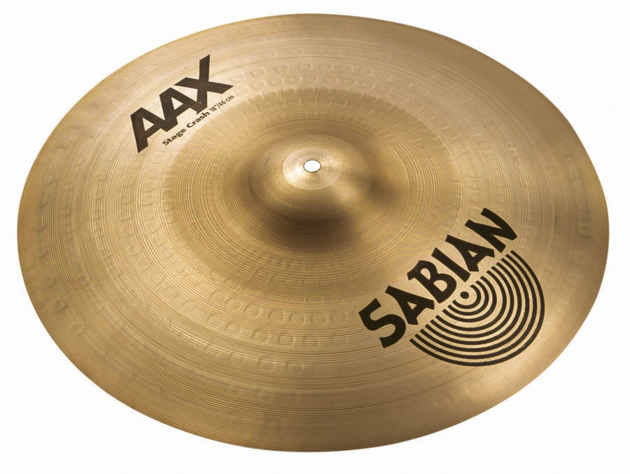 "Sabian 18"" AAX Stage Crash Cymbal"