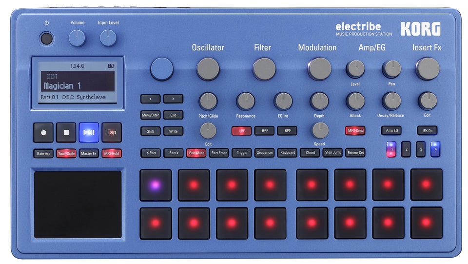 KORG Electribe 2 Music Production Station - Blue