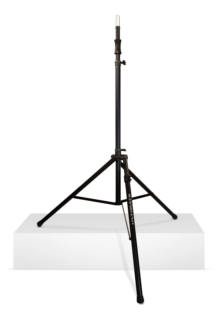 Ultimate Support TS-110BL Air-Powered Series Tall Speaker Stand W/ Leveling Leg