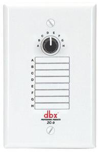 DBX Professional ZC-9 ZonePRO 8 Position Zone Controller