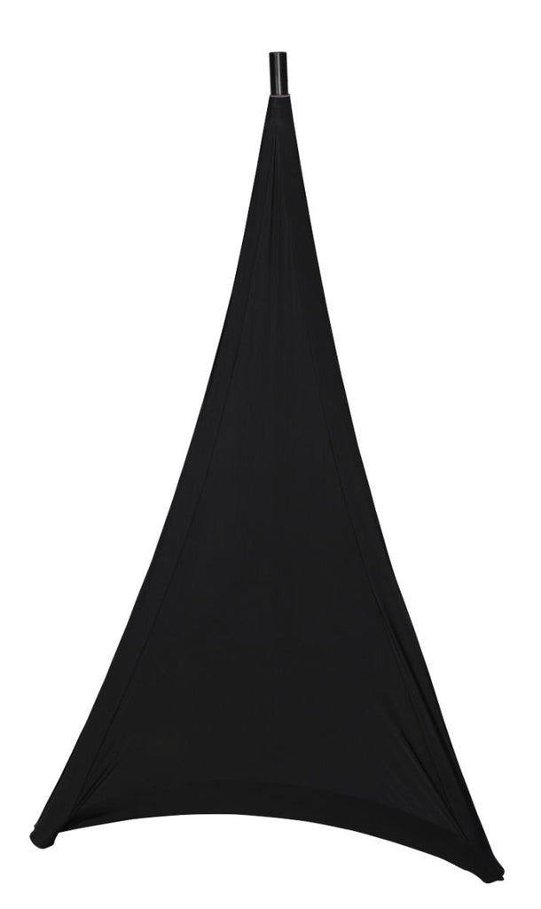 Gator GPA-STAND-1-B Black Stretchy Cover To Cover One Base Side Of Most Tripod Style Speaker Stands