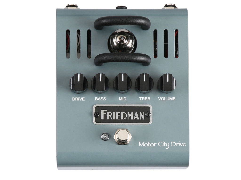 friedman motor city drive 12ax7a tube overdrive pedal chuck levin 39 s. Black Bedroom Furniture Sets. Home Design Ideas
