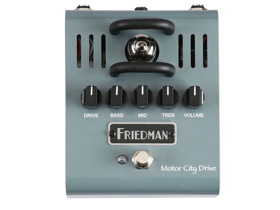 Friedman Motor City Drive 12AX7A Tube Overdrive Pedal