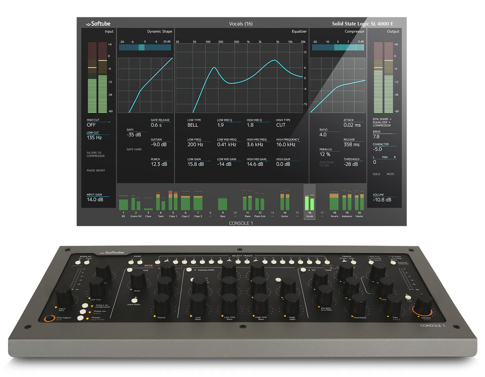 Softube MKII Console 1 DAW Controller