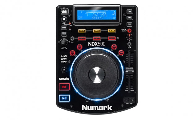 Numark NDX 500 USB/CD Media Player & Software Controller
