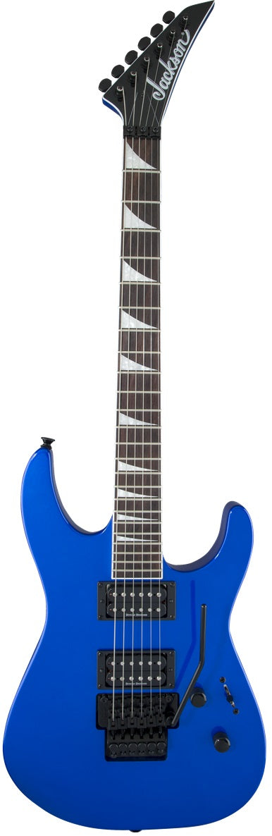Jackson X Series Soloist SLX Electric Guitar - Rosewood Fingerboard, Lightning Blue