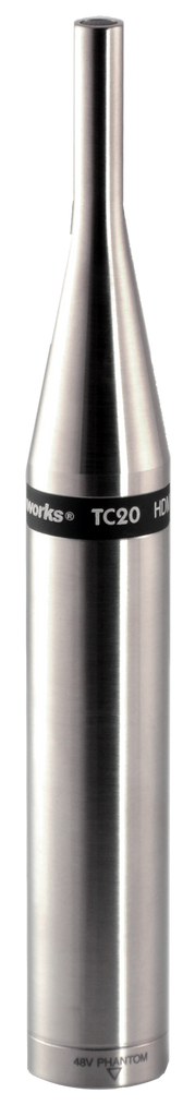 Earthworks TC20 Time Coherent Series 20kHz Omni Mic for Loud Sources