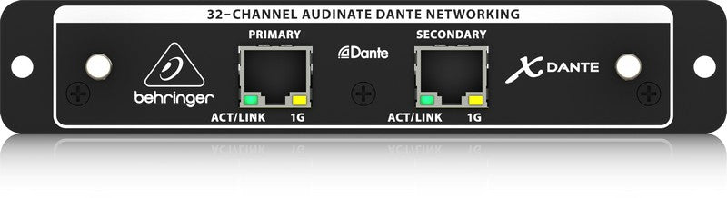Behringer X-DANTE 32 Channel Audinate Dante Expansion Card For X32