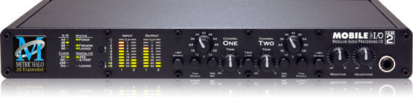Metric Halo ULN-2 Expanded Audio Interface With 1 Jensen Transformer