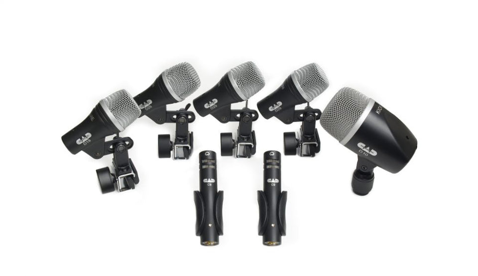 CAD Audio Stage7 7 Piece Drum Microphone Pack