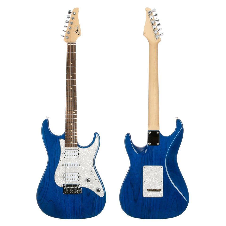 Suhr Standard Custom Electric Guitar - Trans Blue