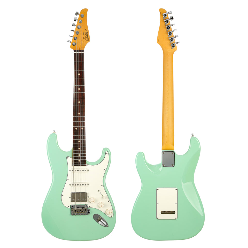 Suhr Classic S Electric Guitar, Rosewood Fingerboard - Surf Green
