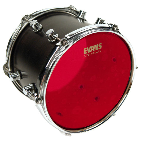 Evans Hydraulic Red Drum Head