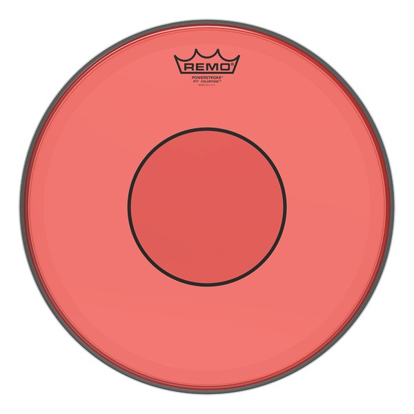 Remo Powerstroke 77 Colortone Drumhead - Red