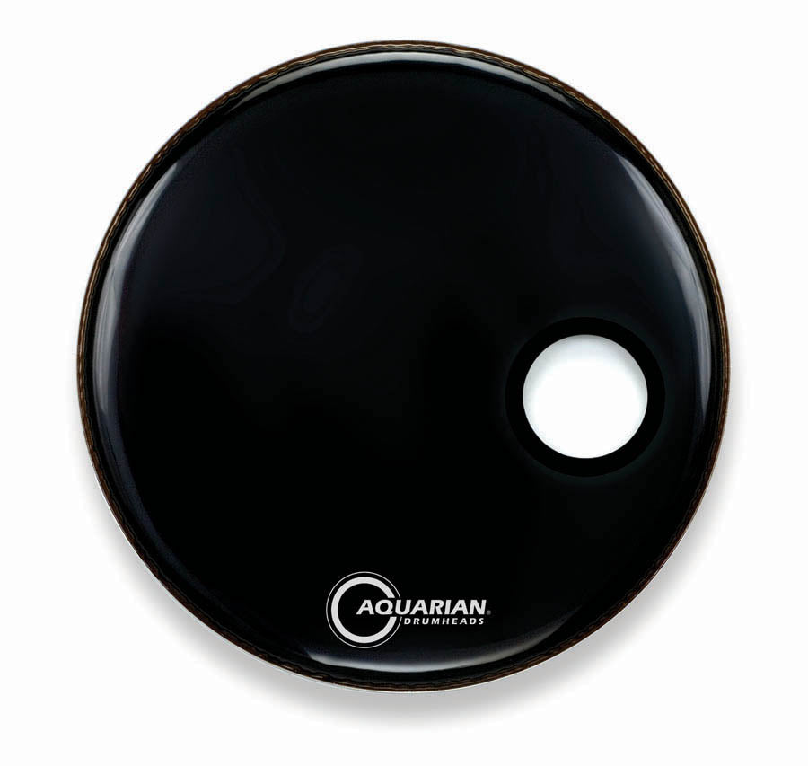 "Aquarian 24"" Ported Bass Drum Head"