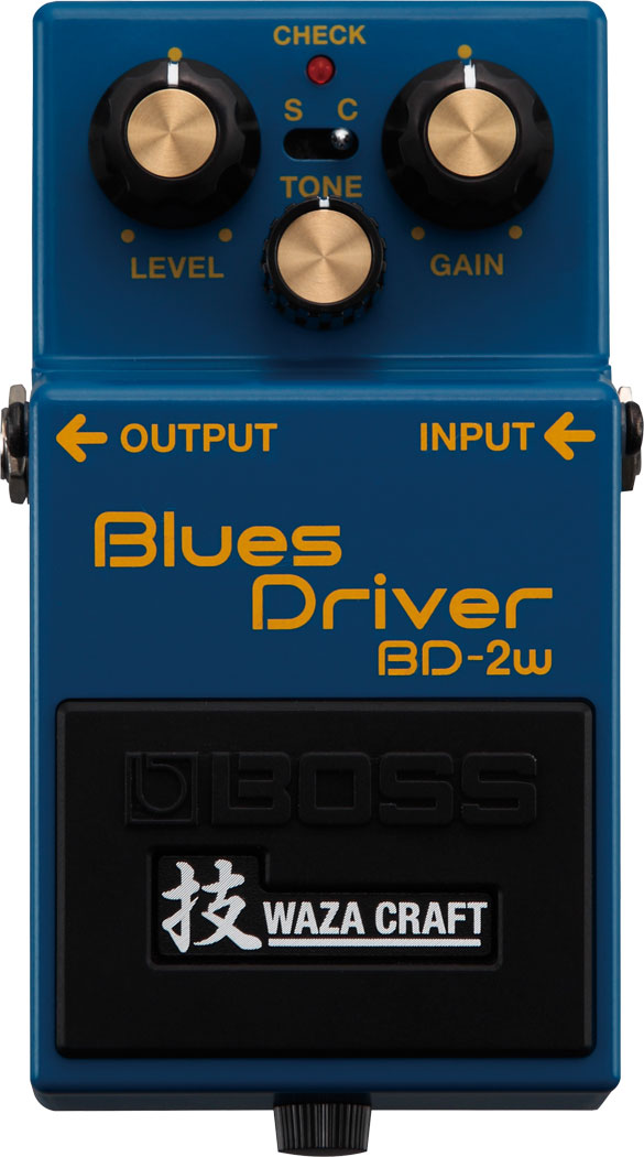 Boss BD-2W Blues Driver - Waza Craft Pedal