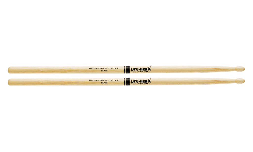 Promark TX5ABW Hickory 5AB Wood Tip drumstick