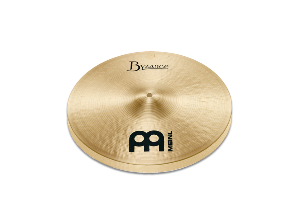 "Meinl 14"" Byzance Traditional Thin Hi-Hat Cymbals"