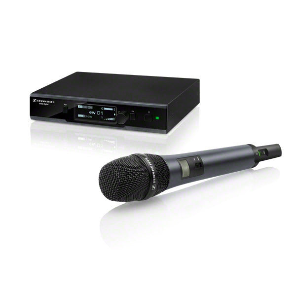 Sennheiser EW D1-845S Digital Wireless Handheld Microphone System W/ E845 Supercardioid Dynamic Microphone