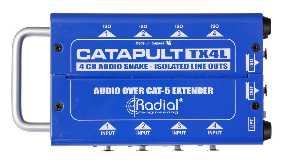 Radial Engineering TX4L 4-Channel Cat 5 Audio Snake