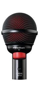 Audix FireBall V Ultra-small Professional Dynamic Instrument Mic w/ Volume