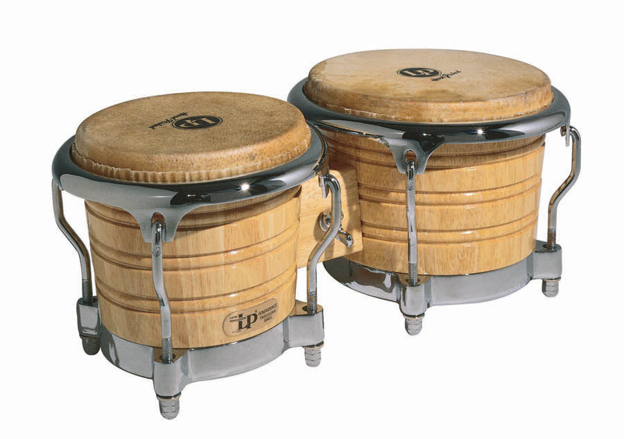 LP LP201AX-2 Generation II Bongos, Natural/Chrome