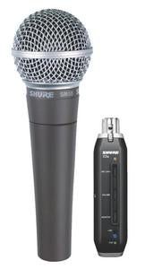 Shure SM58-X2U USB Digital Bundle With SM58 Dynamic Microphone And X2U USB Interface