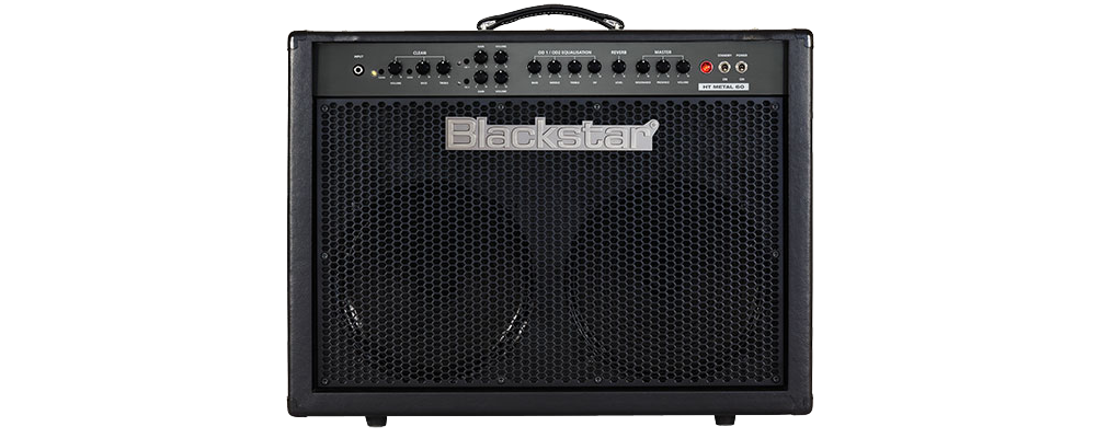 Blackstar HTMETAL60C Tube 2X12 Combo Amplifier