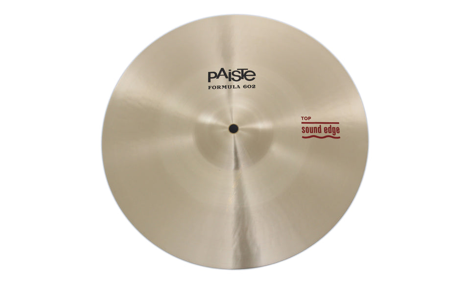 "Paiste 14"" Formula 602 Sound Edge Hi-Hat Top Cymbal"