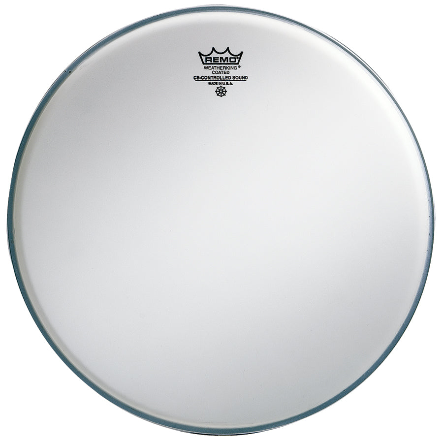 "Remo 13"" Coated Controlled Sound Drum Head With Clear Dot"