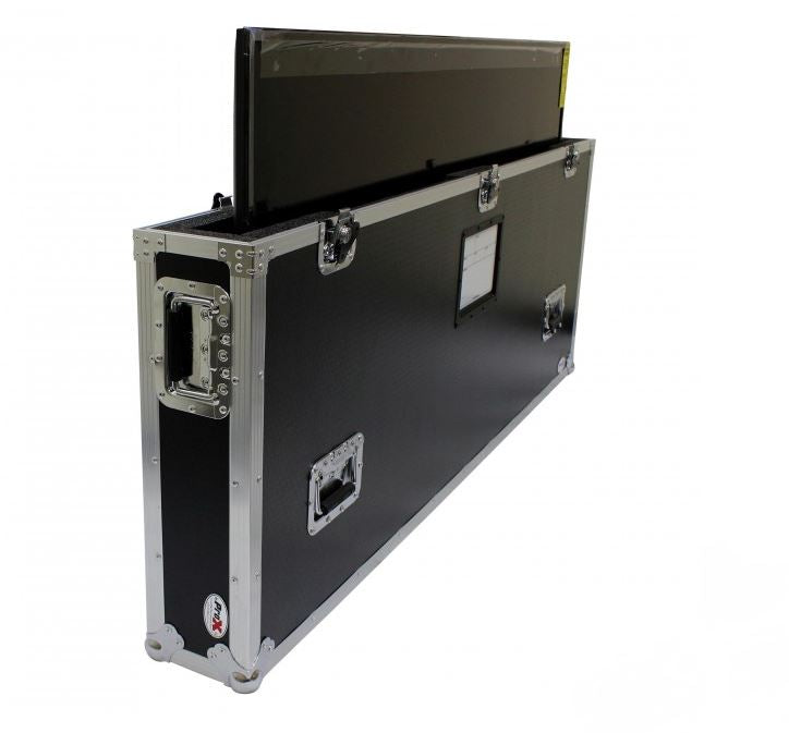 "ProX 55""-65"" Single TV Case w/Wheels"