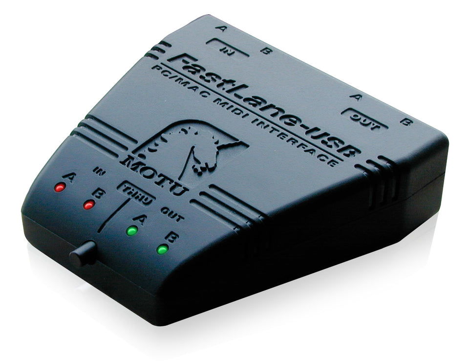 MOTU FastLane 2-In/2-Out USB MIDI Interface