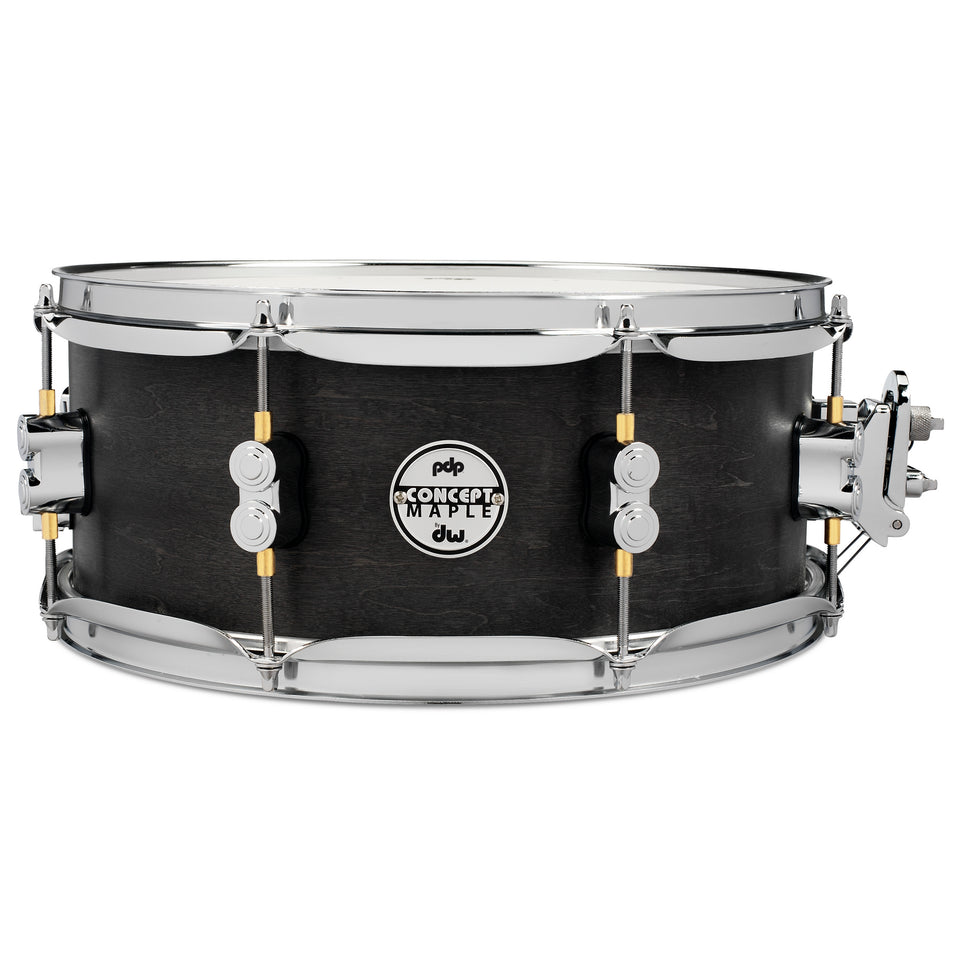 "PDP 13"" x 5.5"" Black Wax Maple Snare Drum"