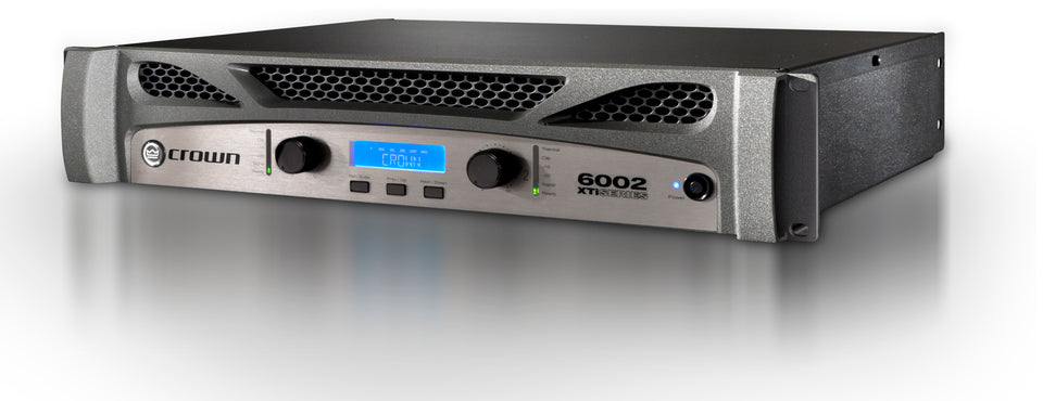 Crown Audio XTi 6002 Stereo Power Amplifier W/ DSP