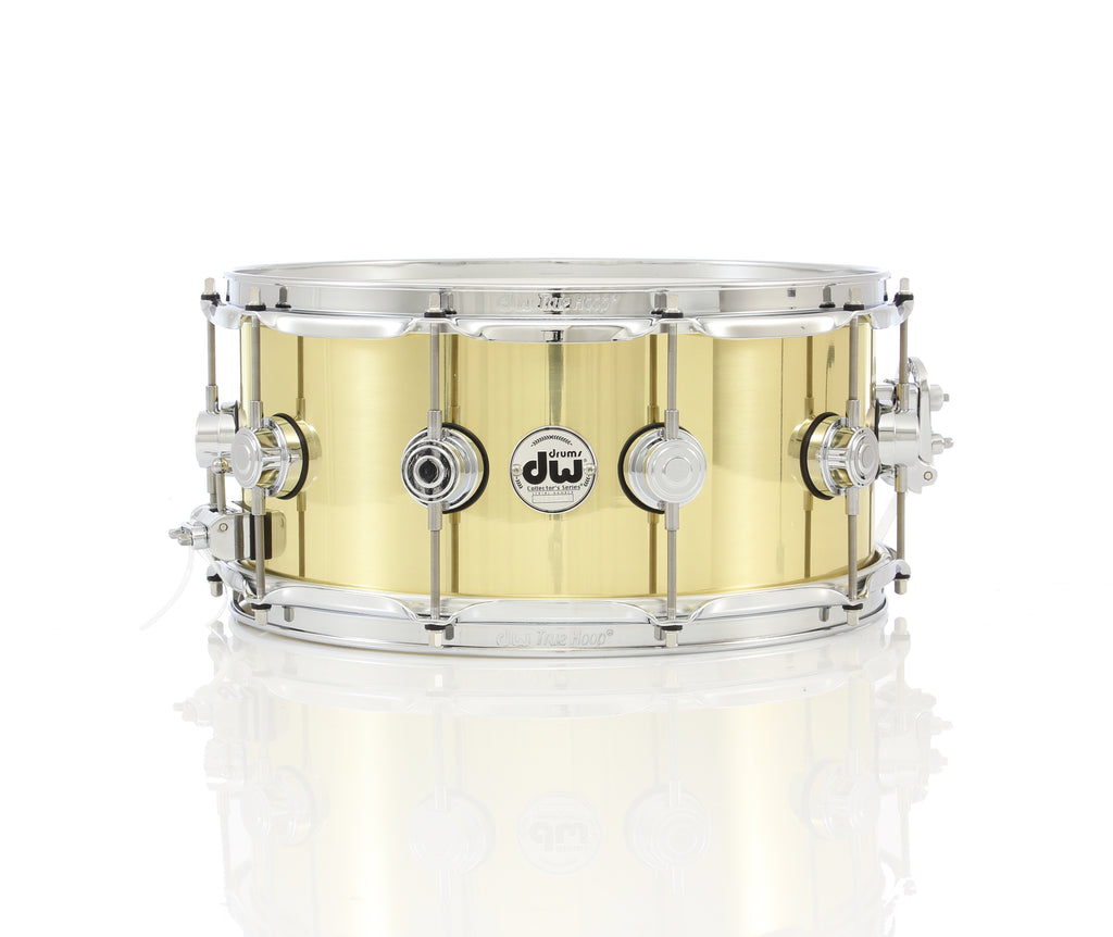 "DW Collector's Series 14"" x 6.5"" Bell Brass Snare Drum"