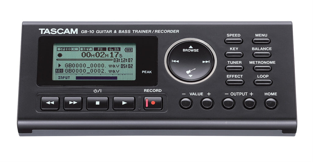 Tascam GB-10 Guitar and Bass Trainer / Recorder