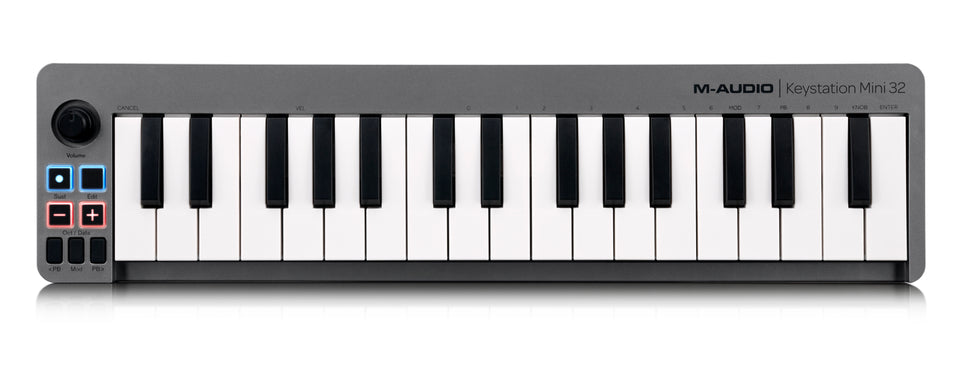 M-Audio Keystation Mini 32 - Portable Keyboard Controller
