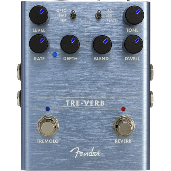 Fender Tre-Verb Digital Reverb/Tremolo Effect Pedal