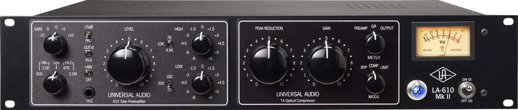 Universal Audio LA-610 MkII Classic Tube Recording Channel Strip