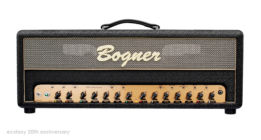 Bogner 20th Anniversary Ecstasy EL34 100w Tube Amplifier Head