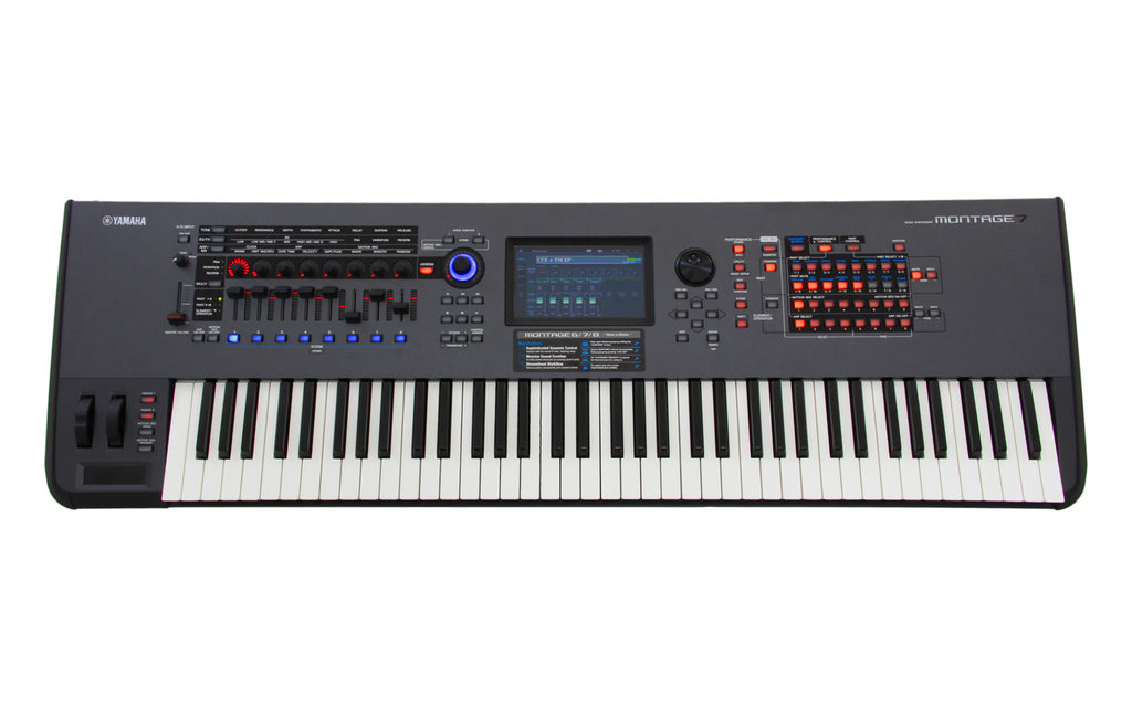 Yamaha Montage 7 76 Key Synthesizer