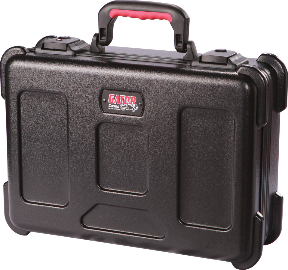 "Gator Cases GXDF-1116-5-TSA ATA Molded Utility Case With TSA Latches And Diced Foam Interior 11"" X 16"" X 5"""