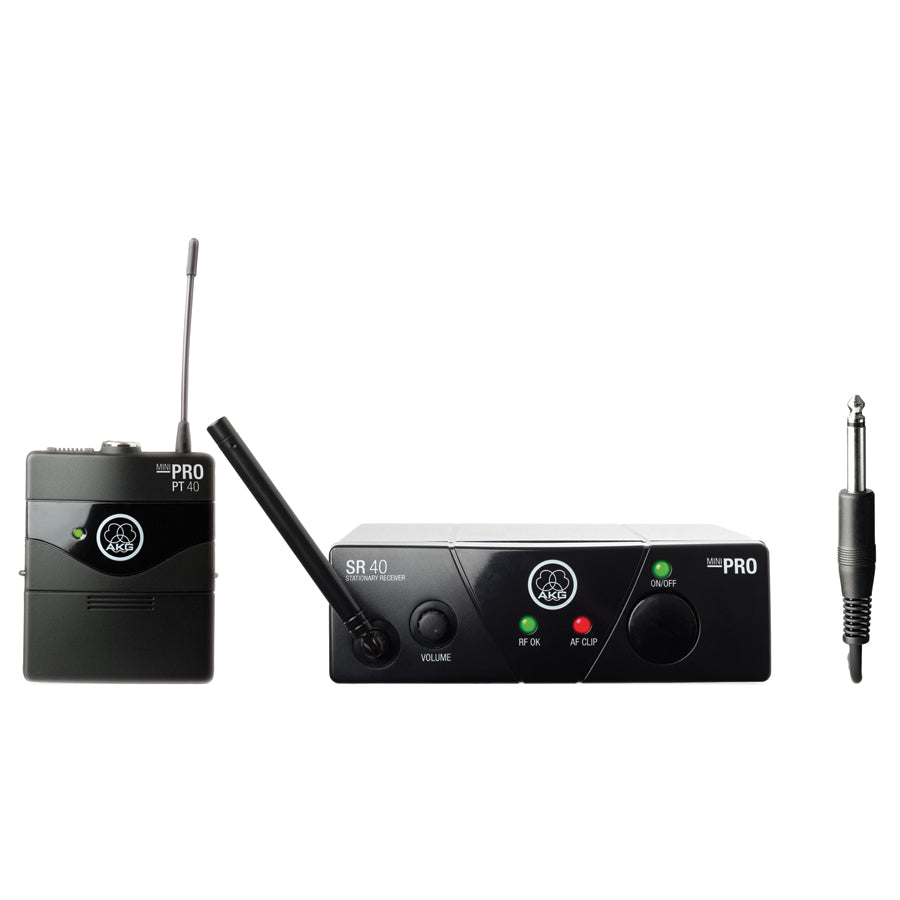 AKG WMS40 Mini Instrument Wireless Microphone System (US45A)