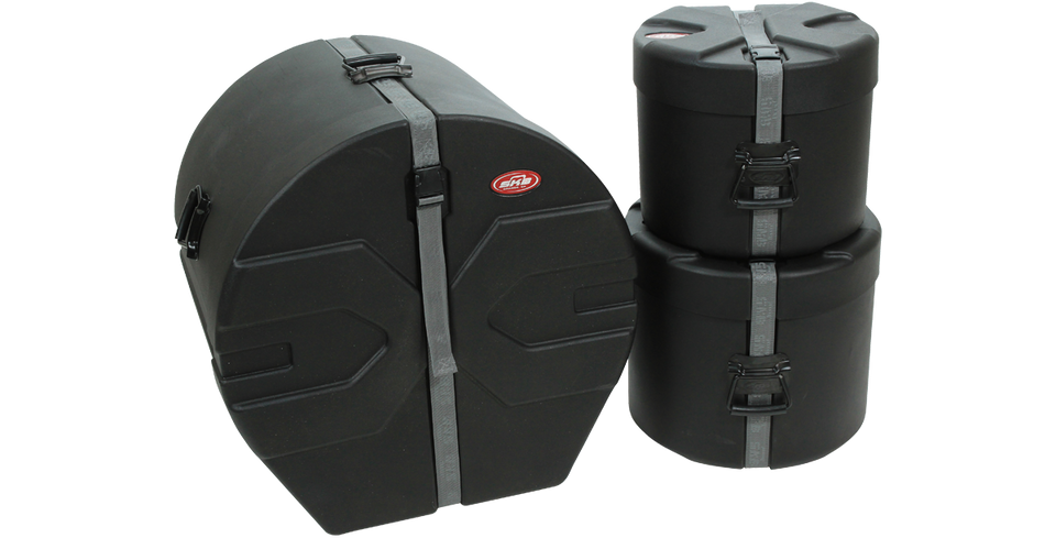 SKB 1SKB-DRP1 Drum Hard Case Package 1