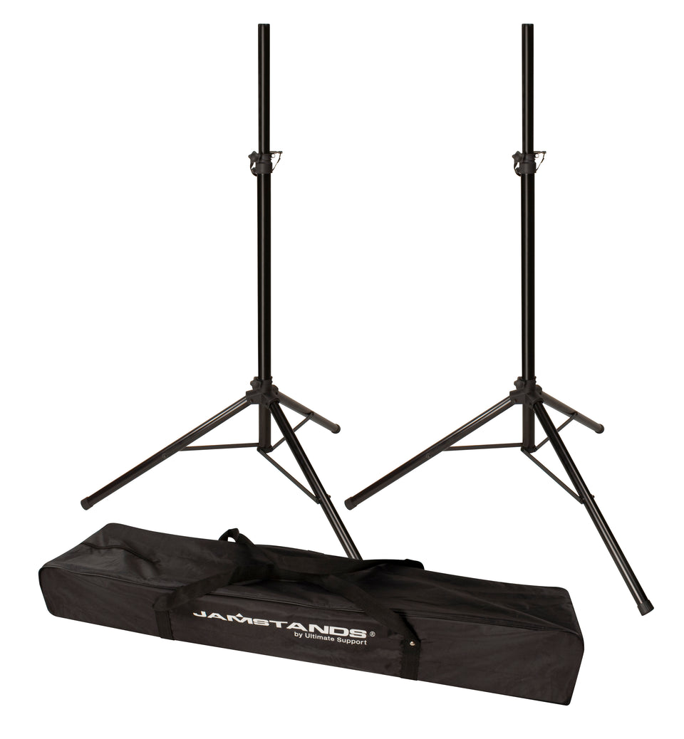 Jamstands JS-TS50-2 Pair Tripod Speaker Stands With Carry Bag