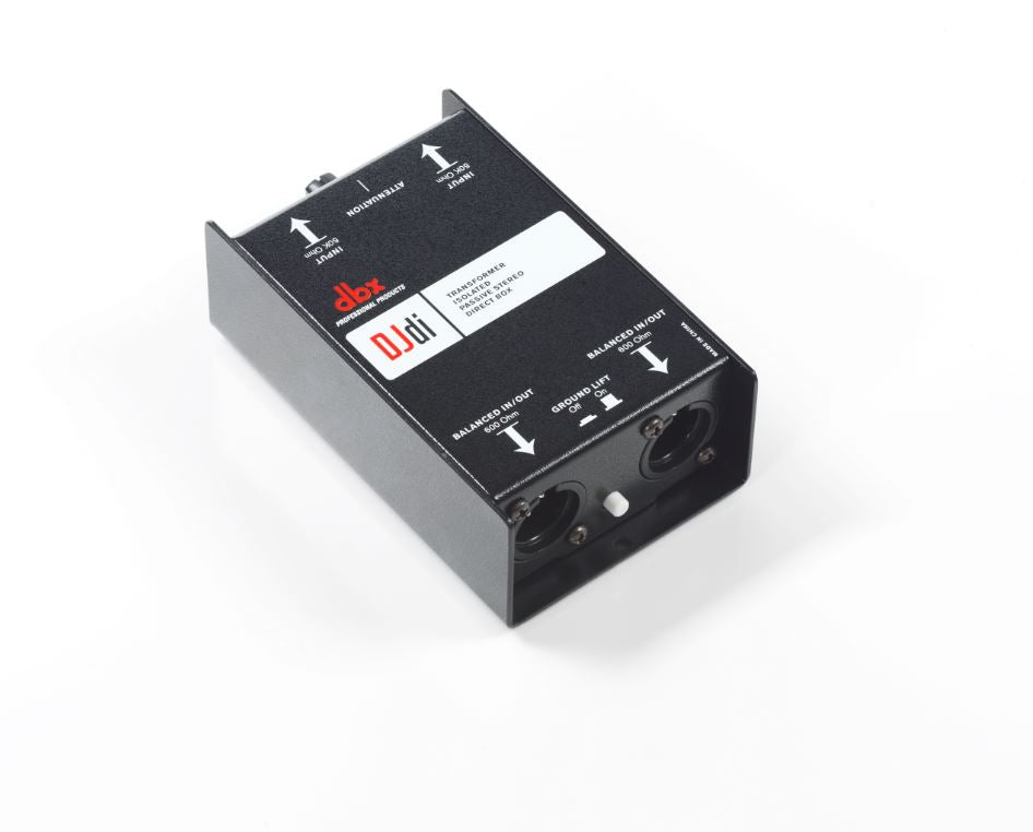 DBX DJDI 2-Channel Passive Direct Box