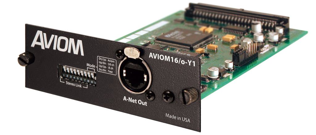 Aviom Aviom16/o-Y1 A-Net Card